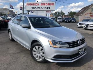 Used 2016 Volkswagen Jetta Trendline Plus Auto/Navigation/Carplay/Camera/Htd Seats for sale in Mississauga, ON