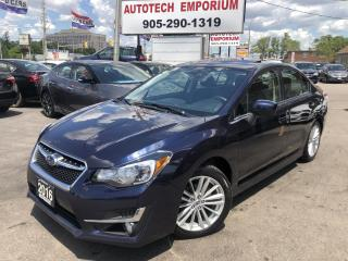 Used 2016 Subaru Impreza Premium Pkg AWD Sunroof/Camera/Htd Sts/Alloys &GPS for sale in Mississauga, ON
