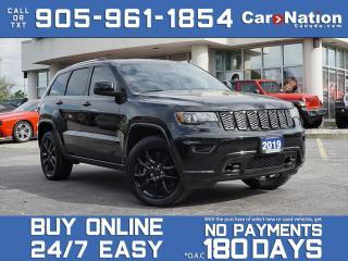 Used 2019 Jeep Grand Cherokee Altitude| 4X4| NAVI| LOCAL TRADE| SUNROOF| for sale in Burlington, ON