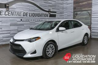 Used 2018 Toyota Corolla GR/ELEC+A/C+CAM/REC+BLUETOOTH for sale in Laval, QC
