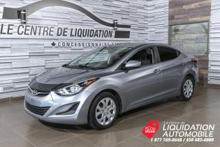 Used 2015 Hyundai Elantra GL+GR/ELEC+A/C+BLUETOOTH for sale in Laval, QC