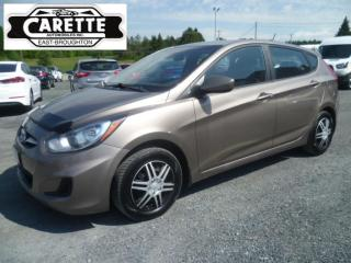 Used 2012 Hyundai Accent for sale in East broughton, QC