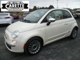 Used 2012 Fiat 500 C for sale in East broughton, QC