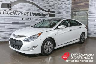 Used 2013 Hyundai Sonata Hybrid Limited+MAGS+A/C+TOIT+BLUETOOTH+4PNEUS for sale in Laval, QC