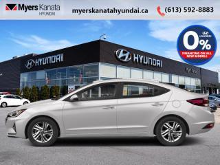 New 2020 Hyundai Elantra Essential Manual  - $104 B/W for sale in Kanata, ON