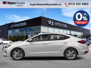 New 2020 Hyundai Elantra Essential IVT  - $125 B/W for sale in Kanata, ON
