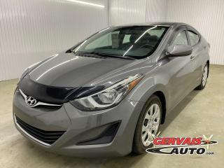 Used 2014 Hyundai Elantra GL A/C BLUETOOTH SIÈGES CHAUFFANTS for sale in Shawinigan, QC