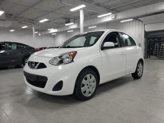 Used 2017 Nissan Micra S for sale in St-Eustache, QC