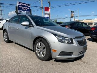 Used 2014 Chevrolet Cruze 1LT | Auto, Bluetooth for sale in Caledonia, ON