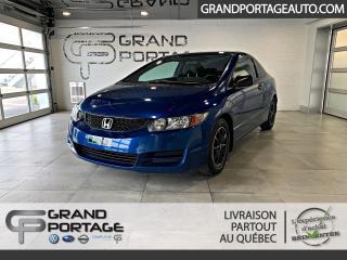 Used 2011 Honda Civic 2 portes, boîte manuelle, DX-G for sale in Rivière-Du-Loup, QC