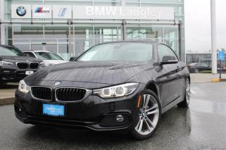 Used 2018 BMW 4 Series xDrive Cabriolet for sale in Langley, BC