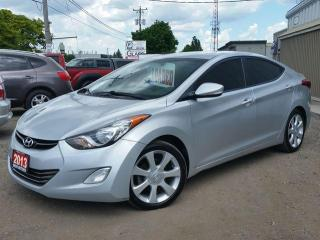 Used 2013 Hyundai Elantra Limited for sale in Cambridge, ON