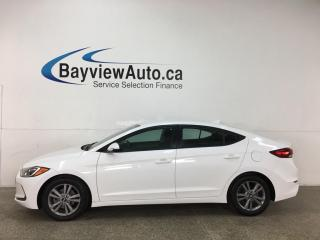 Used 2017 Hyundai Elantra GL - AUTO! A/C! PWR GROUP! ALLOYS! for sale in Belleville, ON