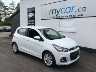 Used 2017 Chevrolet Spark 1LT CVT BACKUP CAM, ALLOYS, POWERGROUP, LOW MILEAGE!! for sale in Richmond, ON