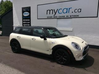 Used 2017 MINI Cooper Clubman Cooper S LEATHER, SUNROOF, NAV, FULL LOAD!! for sale in Richmond, ON