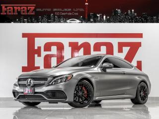 Used 2017 Mercedes-Benz C63 AMG AMG|COUPE|MAGNO PAINT|DTR+|DISTRONIC|B.SPOT|LOADED for sale in North York, ON