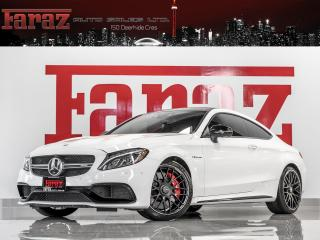 Used 2017 Mercedes-Benz C63 AMG AMG S-MODEL|COUPE|DISTRONIC|BURMESTER|B.SPOT|360CAM|LOADED for sale in North York, ON