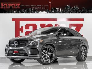 Used 2016 Mercedes-Benz GLE GLE450 AMG COUPE DISTRONIC DTR+ B.SPOT 360CAM LOADED for sale in North York, ON