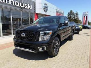 Used 2018 Nissan Titan 4x4 Crew Cab PRO 4 X LUXE (CUIR)**DÉMO** for sale in Rimouski, QC