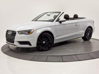 Used 2016 Audi A3 2dr Cabriolet quattro 2.0T Technik for sale in Brossard, QC