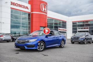 Used 2018 Honda Civic GARANTIE LALLIER MOTO-PROPULSEUR 10ANS/200,000 KIL P5066  BLEU for sale in Terrebonne, QC
