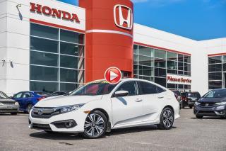 Used 2017 Honda Civic GARANTIE LALLIER MOTO-PROPULSEUR 10ANS/200,000 KIL 02579A  BLANC for sale in Terrebonne, QC