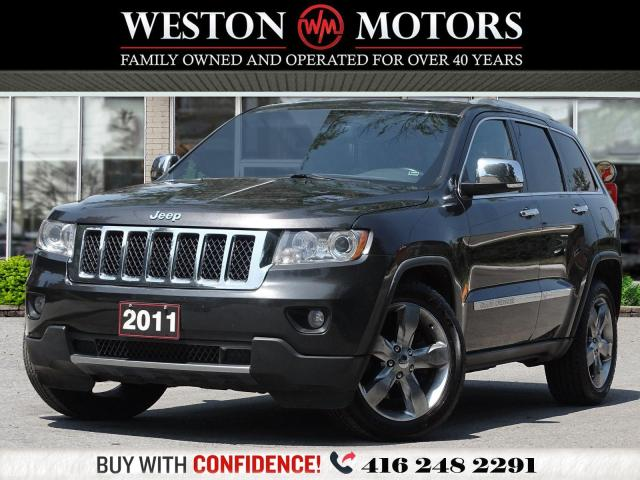 2011 Jeep Grand Cherokee 4X4*OVERLAND SUMMIT*LEATHER*FULLY LOADED!!*