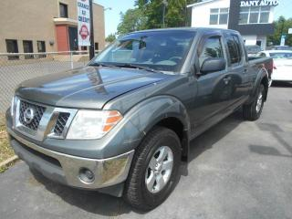 Used 2009 Nissan Frontier Cabine multiplaces 4 RM, empattement lon for sale in Sorel-Tracy, QC
