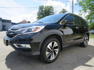 Used 2016 Honda CR-V AWD Touring Navi Cuir Toit Mags Camera for sale in St-Eustache, QC
