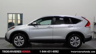 Used 2014 Honda CR-V EX-L + AWD + CUIR + VITRES TEINTEES! for sale in Trois-Rivières, QC