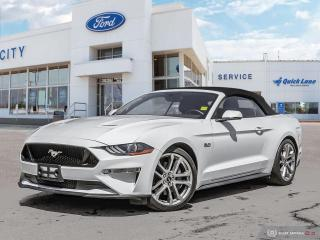 Used 2019 Ford Mustang Covertible Gt Premium for sale in Winnipeg, MB