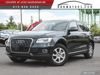 Used 2015 Audi Q5 2.0T Progressiv AWD | LOW KMS | BLUETOOTH | HEATED LEATHER for sale in Stittsville, ON