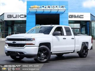 Used 2018 Chevrolet Silverado 1500 Silverado Custom Low Mileage! | Bumper cornersteps! for sale in Burlington, ON