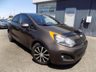 Used 2013 Kia Rio ***LX+,HATCHBACK,AUTO,ÉQUIPÉ,A/C** for sale in Longueuil, QC