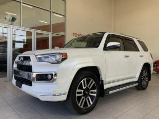 Used 2017 Toyota 4Runner * LIMITED * 4X4 * CUIR * TOIT * GPS *  7 PASSAGERS for sale in Mirabel, QC