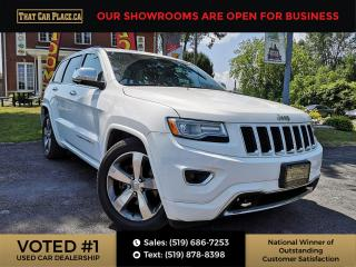 Used 2015 Jeep Grand Cherokee Overland Bluetooth System, Lift Kit, Navigation System, Back Up Camera, Heated Seats, Cooled / Air Conditione for sale in London, ON