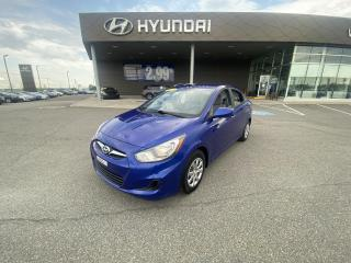 Used 2012 Hyundai Accent GL,A/C,CRUISE,VITRES ÉLECTRIQUES, FM for sale in Mirabel, QC
