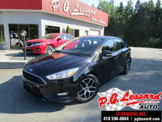 Used 2017 Ford Focus Se camera siege et volant chauffant bluetooth for sale in St-Prosper, QC