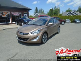 Used 2016 Hyundai Elantra GLS for sale in St-Prosper, QC