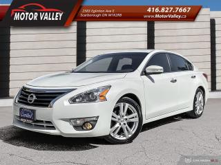 Used 2013 Nissan Altima 3.5 SL Tech Pkg Navigation - Leather Mint! for sale in Scarborough, ON