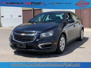 Used 2015 Chevrolet Cruze 1LT for sale in Winnipeg, MB