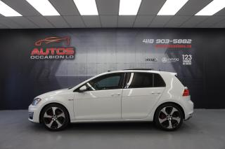 Used 2016 Volkswagen Golf GTI GTI AUTOBAHN 6 VITESSES TOIT GPS NAV FENDER 91 330 for sale in Lévis, QC