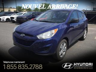 Used 2013 Hyundai Tucson GL + GARANTIE + A/C + CRUISE + BLUETOOTH for sale in Drummondville, QC