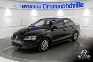 Used 2014 Volkswagen Jetta TRENDLINE PLUS + GARANTIE + A/C + SIEGE for sale in Drummondville, QC