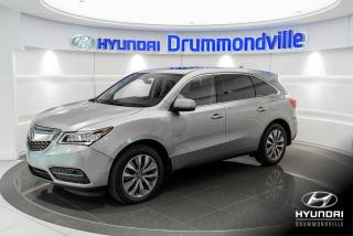 Used 2016 Acura MDX SH-AWD +  NAVI + TOIT + CUIR + for sale in Drummondville, QC