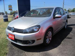 Used 2013 Volkswagen Golf COMFORTLINE for sale in Hamilton, ON