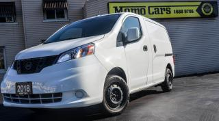 Used 2018 Nissan NV200 Backup Camera! GPS! Navigation! for sale in St. Catharines, ON