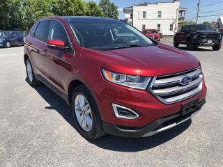 Used 2017 Ford Edge SEL Leather, Moonroof, Nav for sale in Cornwall, ON