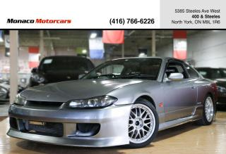 Used 2002 Nissan Silvia S15 SPEC R - BBS|6SPEED|TURBO|RECARO for sale in North York, ON