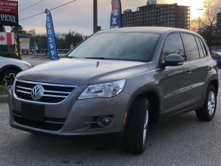Used 2011 Volkswagen Tiguan 4dr Auto Comfortline 4Motion for sale in Waterloo, ON